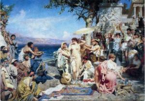Античный жанр в русской живописи 19 века