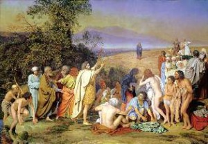 Религиозный жанра русской живописи 19 века