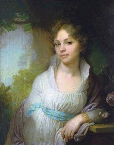"""В.Л.Боровиковский """"Портрет М.И.Лопухиной"""" ,1797"""