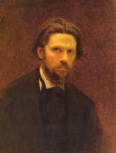 И.Крамской . Автопортрет