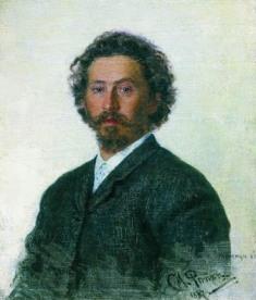И. Репин Автопортрет