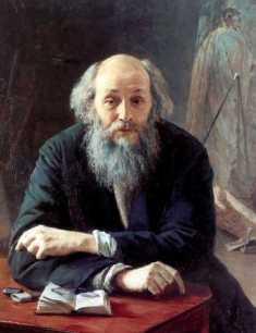 Н. Ге Портрет кисти Ярошенко
