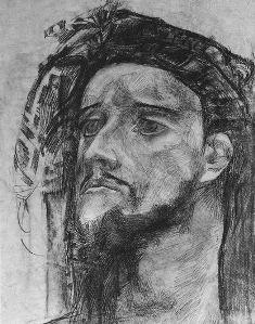 "М.Врубель ""Голова пророка"""