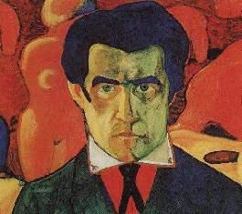 К.Малевич. Автопортрет, 1910г
