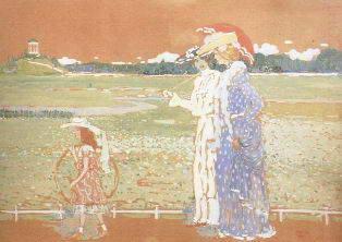 Кандинский В. Лето 1901г