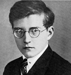 Молодой Шостакович