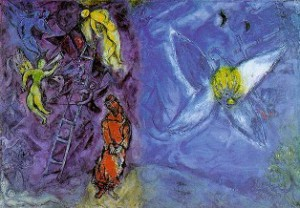 М.Шагал. Сон Иакова, 1954-1967
