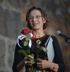 "Победитель киноконкурса ""Окно в Европу""- актриса Ирина Купченко"