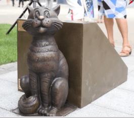 кот матроскин - памятник