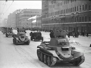 кадр из фильма «Разгром немецких войск под Москвой»