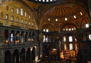 София Константинопольская (фото внутреннего пространства)