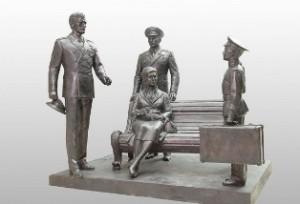 """Памятник героям фильма """"Офицеры"""""""