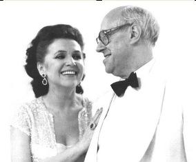 М.Ростропович и Г.Вишневская