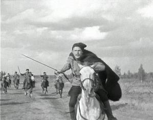 "Кадр из фильма ""Чапаев"", реж. бр.Васильевы"